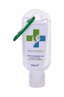 Anti-bacterial Hand Cleansing Gel With Green Carbine - Safe Hands - Dezinfectant