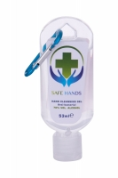 Anti-bacterial Hand Cleansing Gel With Blue Carbin - Safe Hands - Dezinfectant