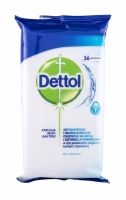 Antibacterial Cleansing Surface Wipes - Dettol - Dezinfectant