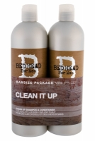 Set Bed Head Men Clean Up - Tigi - Sampon