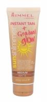 Sun Shimmer Instant Tan Gradual Glow Matte - Rimmel London - Autobronzant