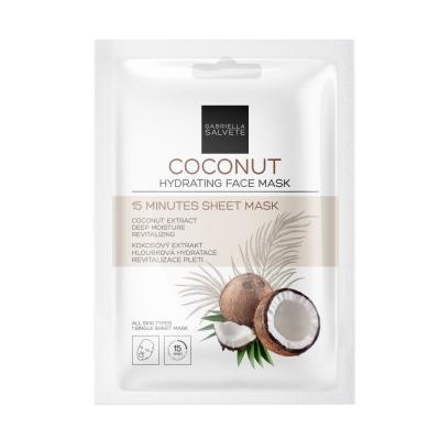 15 Minutes Sheet Mask Coconut - Gabriella Salvete - Masca de fata
