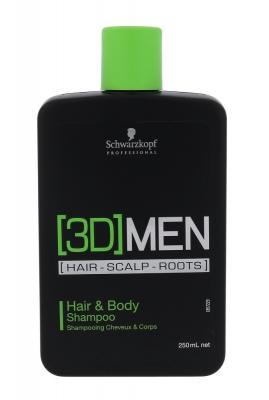 3DMEN Hair & Body - Schwarzkopf Professional - Sampon
