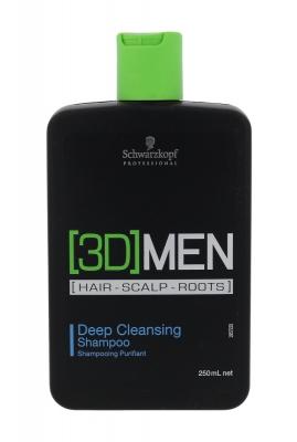 3DMEN Deep Cleansing - Schwarzkopf Professional - Sampon