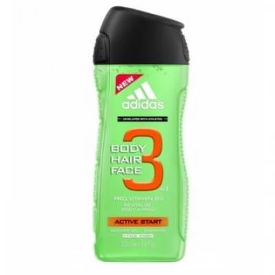 3in1 Active Start - Adidas - Gel de dus