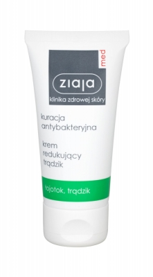 Cleansing Treatment Anti-Imperfection Cream - Ziaja Med - Antiacneic