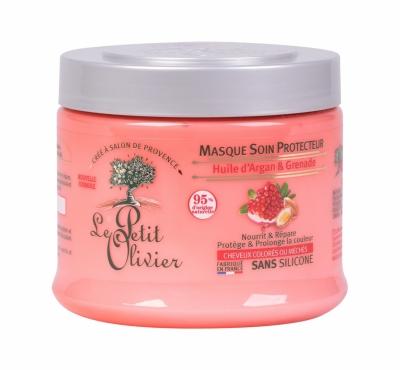 Argan Oil & Pomegranate Protective - Le Petit Olivier - Masca de par