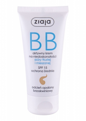 BB Cream Oily and Mixed Skin SPF15 - Ziaja - Fond de ten