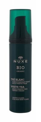 Bio Organic White Tea Tinted Cream Fair Skin Tones - NUXE - Crema de zi