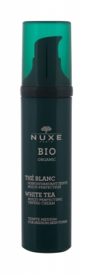 Bio Organic White Tea Tinted Cream Medium Skin Tones - NUXE - Crema de zi