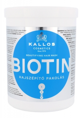 Biotin - Kallos Cosmetics - Masca de par