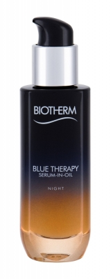 Blue Therapy Serum In Oil Night - Biotherm - Crema antirid