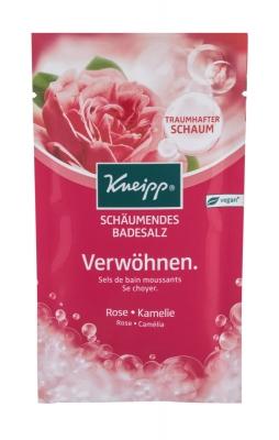 Bubbling Mineral Bath Salt Pamper Rose & Camellia - Kneipp - Tratamente corporale