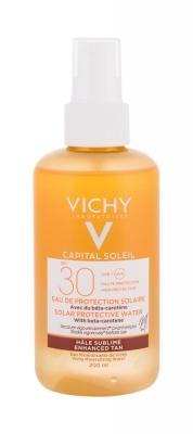 Capital Soleil Solar Protective Water Enhanced Tan SPF30 - Vichy - Protectie solara