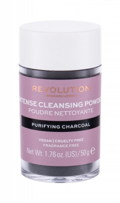 Cleansing Powder Purifying Charcoal - Revolution Skincare - Demachiant