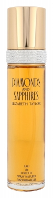 Diamonds and Saphires - Elizabeth Taylor - Apa de toaleta