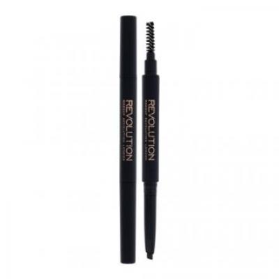 Duo Brow Definer - Makeup Revolution London - Creion de sprancene