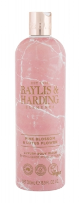 Elements Pink Blossom & Lotus Flower - Baylis & Harding - Gel de dus
