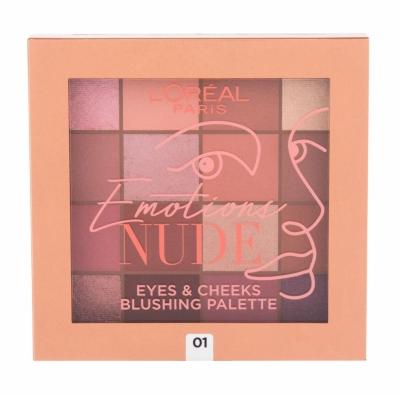 Emotions Nude Eyes & Cheeks - L´Oreal Paris - Fard de pleoape