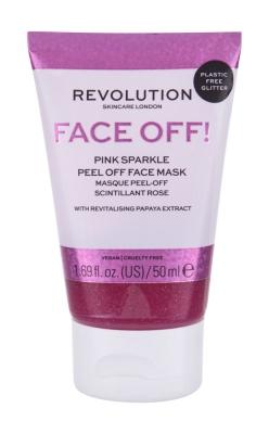 Face Off! Pink Sparkle - Revolution Skincare - Masca de fata