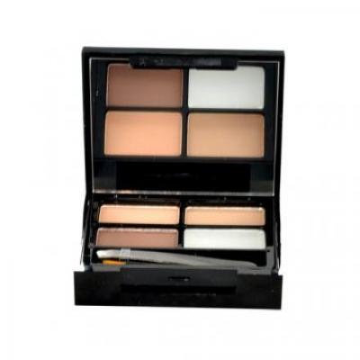 Focus & Fix Eyebrow Shaping Kit - Makeup Revolution London - Creion de sprancene