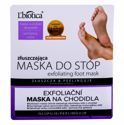 Foot Mask Exfoliating - L´Biotica - Crema de picioare