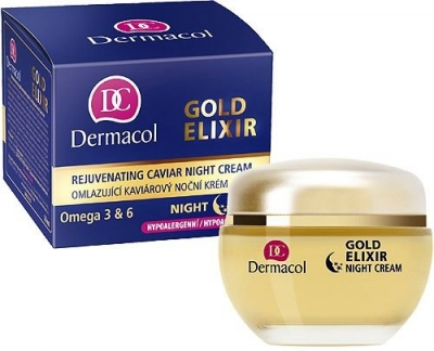 Gold Elixir - Dermacol - Crema de noapte