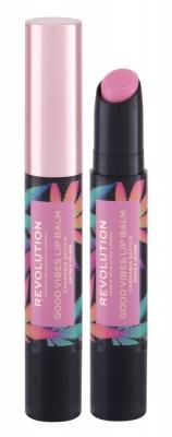 Good Vibes Cannabis Sativa - Makeup Revolution London - Balsam de buze