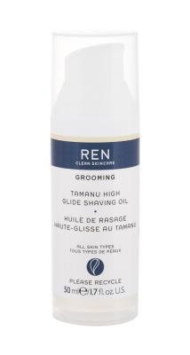 Grooming Tamanu High Glide Shaving Oil - REN Clean Skincare - Pentru barbierit