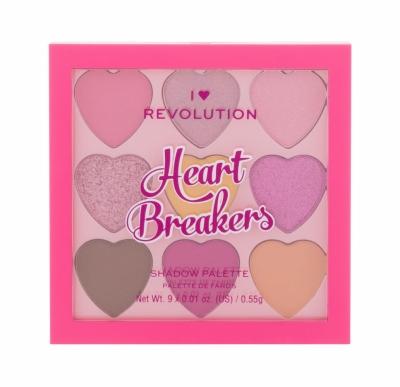 Heartbreakers Palette - I Heart Revolution - Fard de pleoape