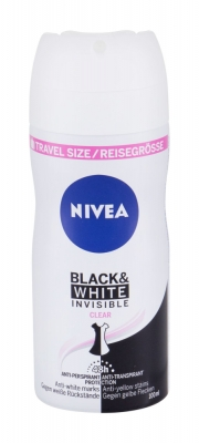 Invisible For Black & White Clear 48h - Nivea - Deodorant