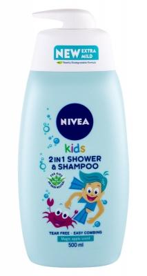 Kids 2in1 Shower & Shampoo Magic Apple Scent - Nivea - Copii