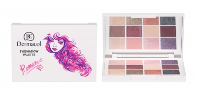Luxury Eyeshadow Palette Romance - Dermacol - Fard de pleoape