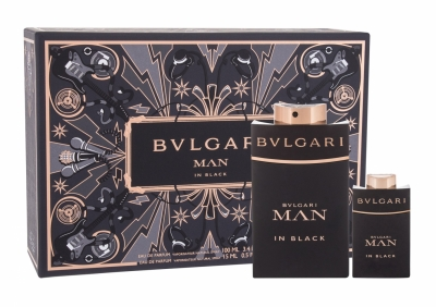 Set Man In Black - Bvlgari - Apa de parfum EDP