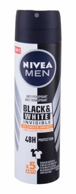 Men Invisible For Black & White Ultimate Impact 48h - Nivea - Deodorant