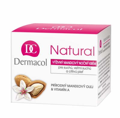Natural Almond - Dermacol - Crema de noapte