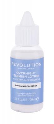 Overnight Blemish Lotion Zinc & Niacinamide - Revolution Skincare - Antiacneic