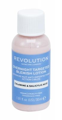 Overnight Targeted Blemish Lotion Calamine & Salicid Acid - Revolution Skincare - Antiacneic