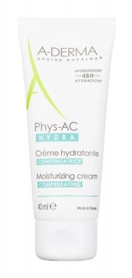 Phys-AC Hydra Compensating Moisturizing Cream - A-Derma - Crema de zi