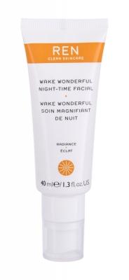 Radiance Wake Wonderful Night-Time Facial - REN Clean Skincare - Crema de noapte
