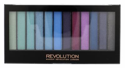 Redemption Palette Mermaids Vs Unicorns - Makeup Revolution London - Fard de pleoape