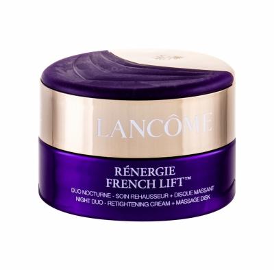 Renergie French Lift Night Duo-Retightening Cream + Massage Disk - Lancome - Crema de noapte