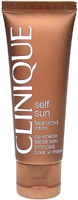 Self Sun Face Tinted Lotion - Clinique - Autobronzant