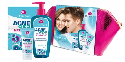 Set AcneClear Cleansing Gel - Dermacol - Antiacneic