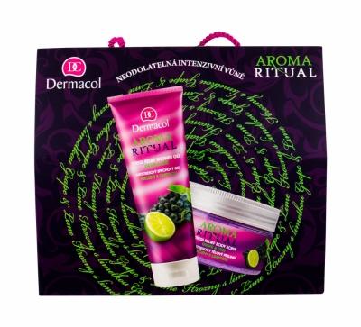 Set Aroma Ritual Grape & Lime - Dermacol - Gel de dus