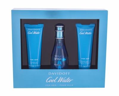 Set Cool Water Woman - Davidoff - Apa de toaleta