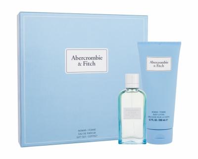 Set First Instinct Blue - Abercrombie & Fitch - Apa de parfum EDP