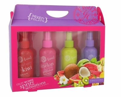 Set Fruit Works - Grace Cole - Spray de corp