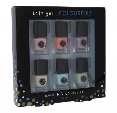 Set Let´s Get Colourful! Pastels - 2K - Oja