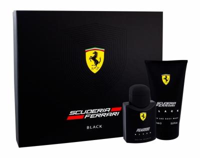 Set Scuderia Ferrari Black - Apa de toaleta